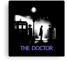 The 11th Doctor meets a new enemy. Canvas Print