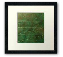 ©AeroArt  Frame Green I Framed Print