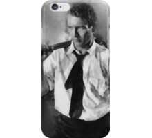 Paul Newman actor by John Springfield iPhone Case/Skin