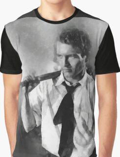 Paul Newman actor by John Springfield Graphic T-Shirt
