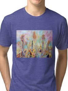 Music Bouquet Tri-blend T-Shirt