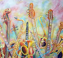 Music Bouquet by Rick Borstelman