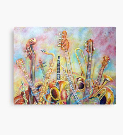 Music Bouquet Canvas Print