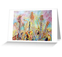 Music Bouquet Greeting Card