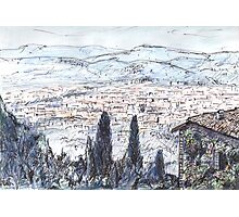 Florence From Fiesole Photographic Print