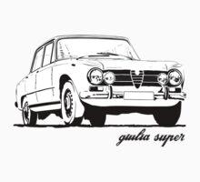Alfa Romeo Giulia Super Kids Clothes
