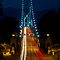 Lions Gate Bridge Traffic by Michael Russell