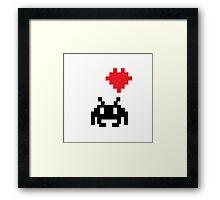 Geeky Love Framed Print