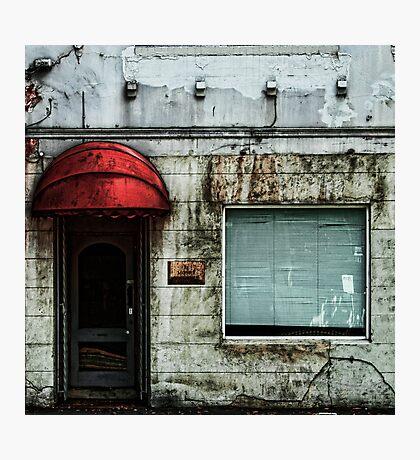 Fading Facade Photographic Print