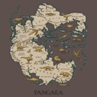 Pangaea t-shirt by Richard Morden