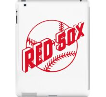 boston red sox logo 1 iPad Case/Skin