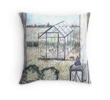 Naes Glasshouse Throw Pillow