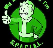 Fallout Vault boy tshirt special by jojolescargot
