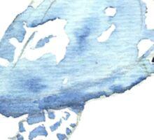 Blue Turtle in a Periscope Sticker