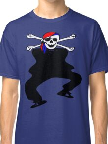 ★ټ Pirate Skull Style Hilarious Clothing & Stickersټ★ Classic T-Shirt