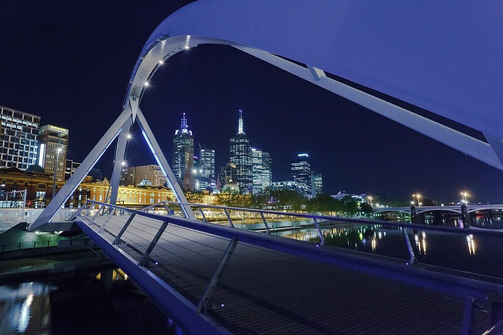 Yarra Pedestrian Bridge  by Shari Mattox