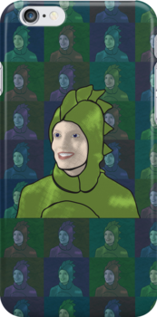 Dinosaur Britta by jwalkingdesigns