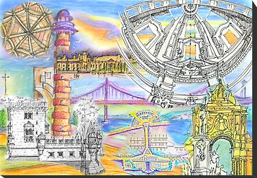 Lisbon sketches by terezadelpilar~ art & architecture