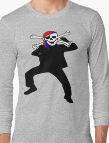 ★ټ Pirate Skull Style Hilarious Clothing & Stickersټ★ Long Sleeve T-Shirt