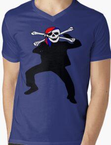★ټ Pirate Skull Style Hilarious Clothing & Stickersټ★ Mens V-Neck T-Shirt