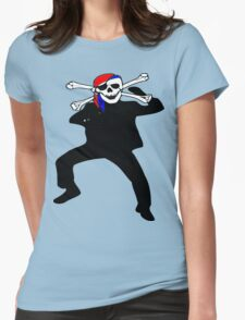 ★ټ Pirate Skull Style Hilarious Clothing & Stickersټ★ Womens Fitted T-Shirt