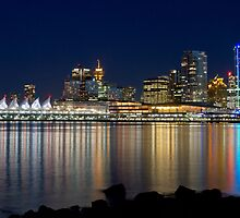 Downtown Reflections by Michael Russell