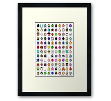 eggclection collection Framed Print
