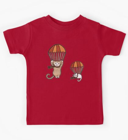 Parachuting (Tee) Kids Tee