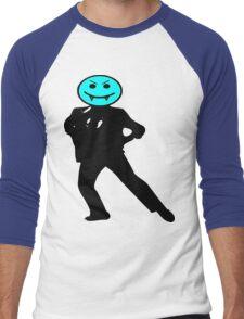 ★ټVampire Smiley Style Hilarious Clothing & Stickersټ Men's Baseball ¾ T-Shirt
