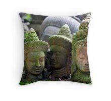 Khmer Terracotta Statue 1 Throw Pillow