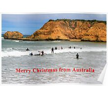 Great Ocean Road Surfing Poster