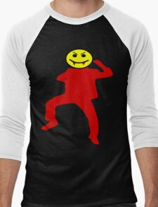 ★ټVampire Smiley Style Hilarious Clothing & Stickersټ★ Men's Baseball ¾ T-Shirt