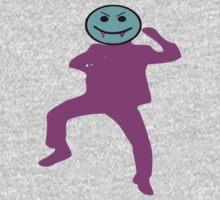 ★ټVampire Smiley Style Hilarious Clothing & Stickersټ★ One Piece - Long Sleeve