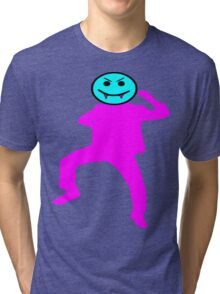 ★ټVampire Smiley Style Hilarious Clothing & Stickersټ★ Tri-blend T-Shirt