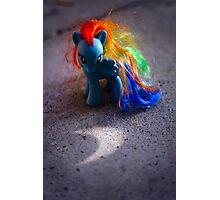 Rainbow Dash's Eclipse Photographic Print
