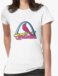 st. louis cardinals Womens Fitted T-Shirt