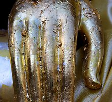 Golden Hand of Buddha by TravelShots