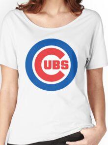 cubs logo Women's Relaxed Fit T-Shirt