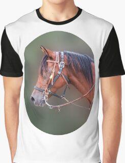 Horse's head Graphic T-Shirt