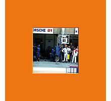 31 LeMans-Box-Porsche-Fahrer Photographic Print