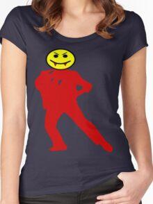 ★ټVampire Smiley Style Hilarious Clothing & Stickersټ★ Women's Fitted Scoop T-Shirt