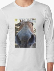 Matilda the Mule Wants Cookies! Long Sleeve T-Shirt