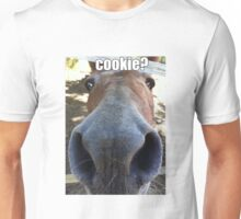 Matilda the Mule Wants Cookies! Unisex T-Shirt