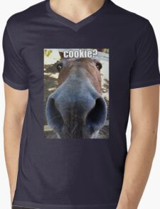 Matilda the Mule Wants Cookies! Mens V-Neck T-Shirt