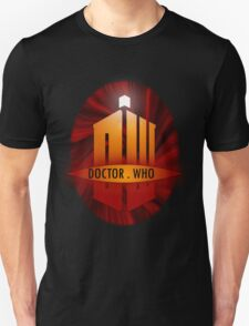 Doctor Who Title Logo's (red) T-Shirt