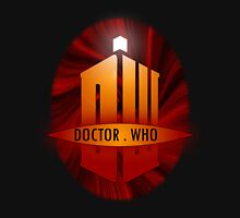 Doctor Who Title Logo's (red) Unisex T-Shirt