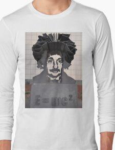 Einstein Sculpture, Canberra, Australia 2013 Long Sleeve T-Shirt