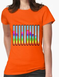 test tubes Womens Fitted T-Shirt