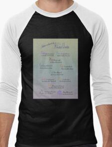 Advice to be a Lady of Downton  Men's Baseball ¾ T-Shirt
