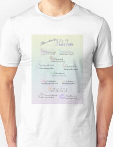 Advice to be a Lady of Downton  T-Shirt